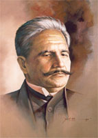 Iqbal, Sir Muhammad - Portrayed by: Ajab Gull